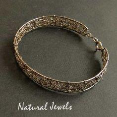 Bracelet Web of Silver