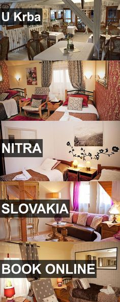 Hotel U Krba in Nitra, Slovakia. For more information, photos, reviews and best prices please follow the link. #Slovakia #Nitra #travel #vacation #hotel