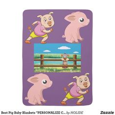 Wrap your bundle of joy in Blanket Baby baby blankets from Zazzle! Cozy comfort for little ones in a huge range of designs. Buy a personalized baby blanket now! What Is Digital, Baby Pigs, Personalized Baby Blankets, Newborn Baby Gifts, Gifts For Boys, Cute Gifts, Little Ones, Baby Shower Gifts, Diy