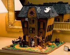 Halloween...Amazing gingerbread house!