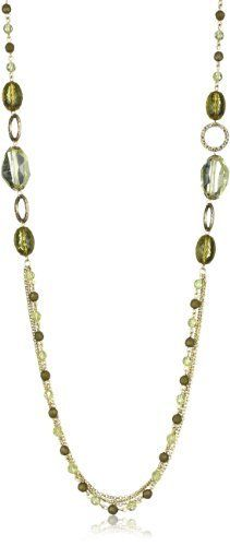 1928 Jewelry Brass and Olivine Peridot Necklace 1928 Jewelry. $22.00. Made in China