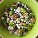 Bean Salad with Walnuts and Feta