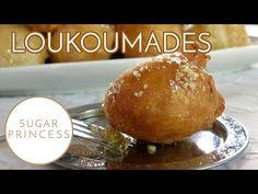 Sugarprincess: Griechische Hefebällchen mit Honigsirup, Walnüssen und Zimt - Loukoumades!