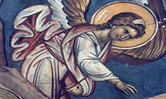 THE ANGEL OF THE LORD Fresco, Angel Hierarchy, Order Of Angels, Celestial, Religion, Lord, Archangel, Heavenly, Fresh
