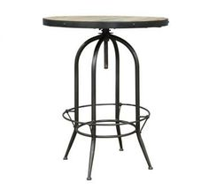 Industrial Bar Table. A Block and Chisel Product.800Dx960/1150H