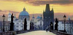 Tschechien Prag Karlsbrücke