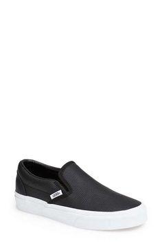 887f42127d3 Vans  Classic  Perforated Slip-On Sneaker (Women) Vans Classic