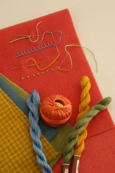 wool applique tips