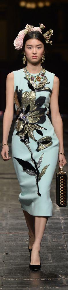 ᎠᎧɭƈҽ & Ɠaɓɓaɲa  Spring 2016  |  @  couture ....  runway