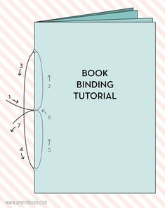 traveler's notebook insert book binding tutorial