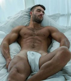 Hunks in bed