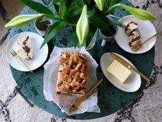 Baking for my family – croissants and cinnamon bread with apple and dates
