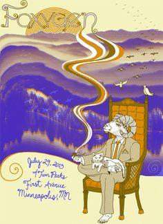 Foxygen, Twin Peaks  by Andy Schmidt