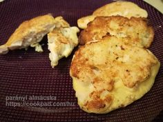 Illatos-omlós húskorong