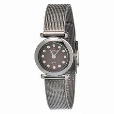 Skagen Brown Mother of Pearl Dial Ladies Watch Skagen Watches, Stainless Steel Bracelet, Pearls, Crystals, Lady, Brown, Bracelets, Accessories, Wrist Watches