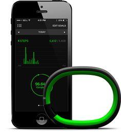 Razer Nabu Smartband Data - Various Data Interaction // #UX #Razerzone #App