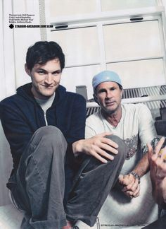 Red Hot Chili Peppers Classic Rock Magazine August 2011 Interview I'm With You Scans Transcript