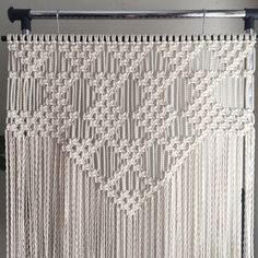 Macrame Patterns/Macrame Pattern/Large Macrame Wall Hanging Pattern/Modern Macrame/Pattern/DIY/Title: Triangles and Diamonds
