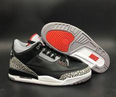 c667c8d12b42 Factory Authentic Air Jordan 3 OG Black Cement 854262-001 - Mysecretshoes  New Nike Air