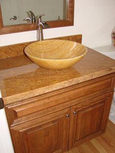 Vanity cabinet, Vessel sink vanity and Vanity ideas on ...