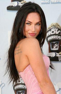You're mine: Megan Fox list