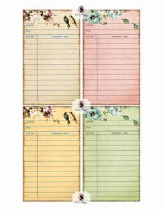 LIBRARY Cards Digital Collage Sheet Flower romance Set of 8 Digital Journaling… Stationary Printable, Printable Paper, Journal Cards, Junk Journal, Baby Journal, Life Journal, Bullet Journal, Scrapbook Cards, Scrapbook Journal