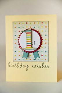 Cute kids birthday card