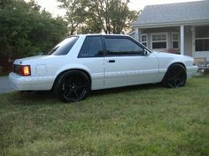 my brothers 1988 mustang notchback ssp - The Ranger Station Forums
