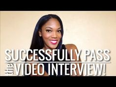 How to Pass the Flight Attendant Video Interview!   Watch this video for tips on how to pass your Flight Attendant Video Interview   Ebony Christina