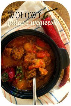 Kuchenna Kontrrewolucya: Węgierski gulasz wołowy Curry, Beef, Chicken, Ethnic Recipes, Food, Meat, Curries, Essen, Meals