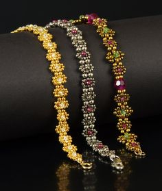 Beadweaving Tutorial Changeable Chain Variations on by NEDbeads