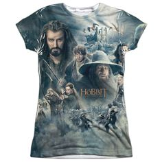 "Checkout our #LicensedGear products FREE SHIPPING + 10% OFF Coupon Code ""Official"" Hobbit/epic Poster (front/back)-s/s Junior Poly T- Shirt - Hobbit/epic Poster (front/back)-s/s Junior Poly T- Shirt - Price: $24.99. Buy now at https://officiallylicensedgear.com/hobbit-epic-poster-front-back-s-s-junior-poly-t-shirt-licensed"
