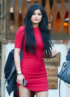 March 28, 2015 - Kylie Jenner leaving Sagebrush Cantina in Calabasas.
