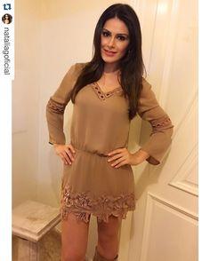 Dress na cor da moda da Estação!!! Escolha da queridaaa @nataliagoficial ❤️❤️❤️ #lookdodia #fashion #love #winter #Kesses