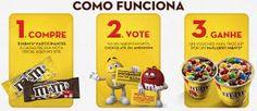 Promoção Vote no seu M&M'S® Preferido e ganhe um McFLURRY
