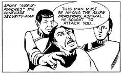 Spock saves