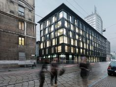 Design Details: How One Office Building Renovation Preserved Milan's Modern Legacy - Architizer