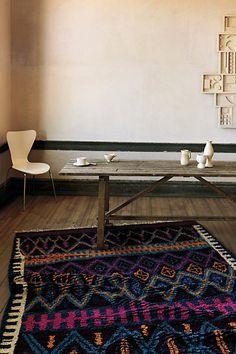 Agadir Twists Rug | Farm table | anthropologie