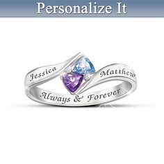 I have ordered this but with my kids' names and birthstones.....Love's Promise Personalized Ring