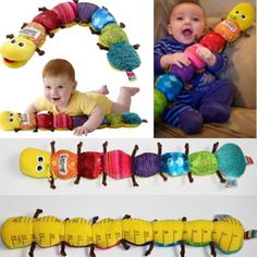 Fashion and Colorful Musical Inchworm Soft Lovely Developmental Baby Toy Popular | eBay