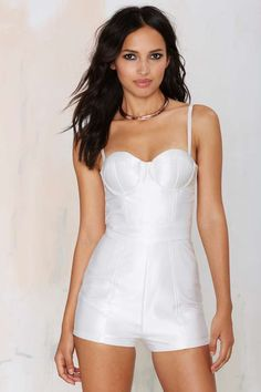 Misha Collection Aurora Bustier Romper