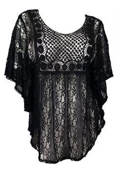 eVogues Sheer Crochet Lace Poncho Top Black - Small eVogues Apparel http://www.amazon.com/dp/B00HL4BQ9C/ref=cm_sw_r_pi_dp_Wnvdub1MMN4B8