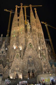 Facciata della Natività - Tempio Espiatorio della Sagrada Familia - Barcellona