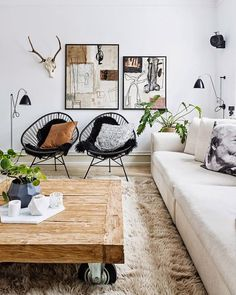 Oh yea I'll take me some Acapulco chairs please. And for this price?! On the blog today! Oh and if you know the source for this image feel free to let me know! #livingroom #copycatchic #livingroomdecor #livingrooms #thelivingroom #livingroomdesign #CopyCatChic