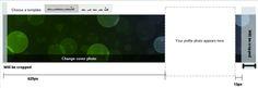 Google Plus Profile - cover image dimensions Google Plus, Profile Photo, Design Templates, Cover Photos, Make It Simple, Social Media, Marketing, Image, Social Networks