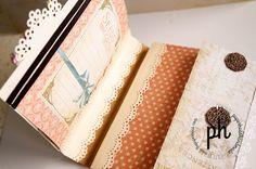 PaperHaus Magazine- mini album tutorial. Cosas interesantes en la sección de tutoriales de esta página