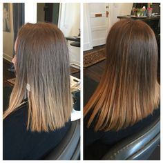 Do you want a bob hair cut but don't want to make your hair any shorter? Hair extensions are for you! Check us out at www.westcoasthair.com #hairextensions #bob #beauty