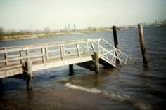 Boat Launch by {Susan Wolfe}, via Flickr    #filmphotography #holga #toycamera #hackensackriver #themeadowlands