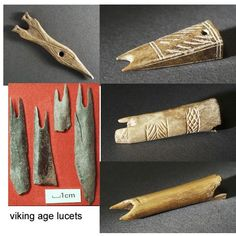 Viking Age Lucets [braiding tool]