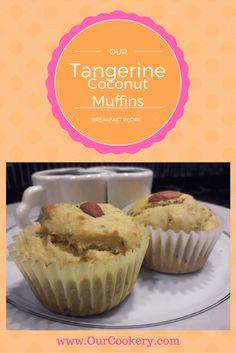 Tangerine Coconut Breakfast Muffins
